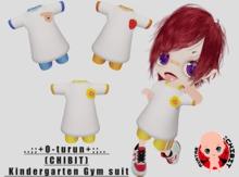 ..;;+O-turun+;;.. (CHIBIT) Kindergarten Gym suit