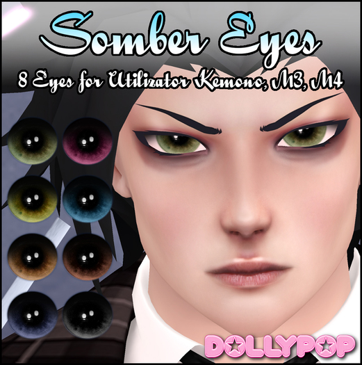 ~Dollypop~ Somber Eyes for Kemono, M3, M4