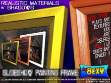 Slideshow Painting Frames  - by 8exy