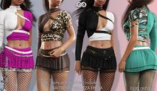 SADIE FEMALE JACKET WITH TOP FATPACK - MESH - Maitreya Lara, Belleza Freya - FashionNatic