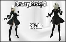 Fantasy Black Girl