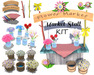 [ FULL PERM ] Deluxe Flower Market Stall KIT