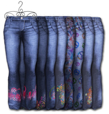 Graffitiwear Hippy Chick Jeans