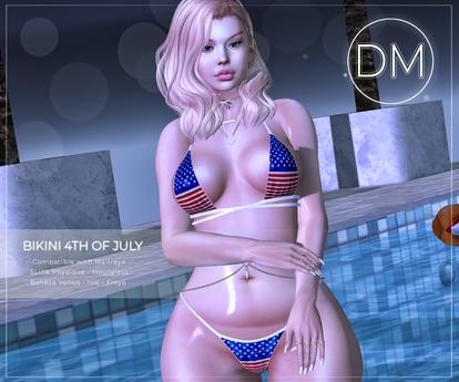 DM::Bikini 4th Of July Maitreya - Belleza - Slink