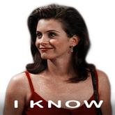 Monic Geller (Friends) - I Know