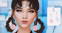 Swan Hanami Earrings