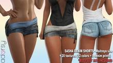 adorsy - Sasha Jean Shorts Fatpack - Maitreya