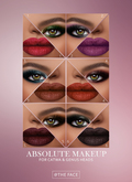 The Face ~ Catwa/Genus - Absolute ~ Make-up palette