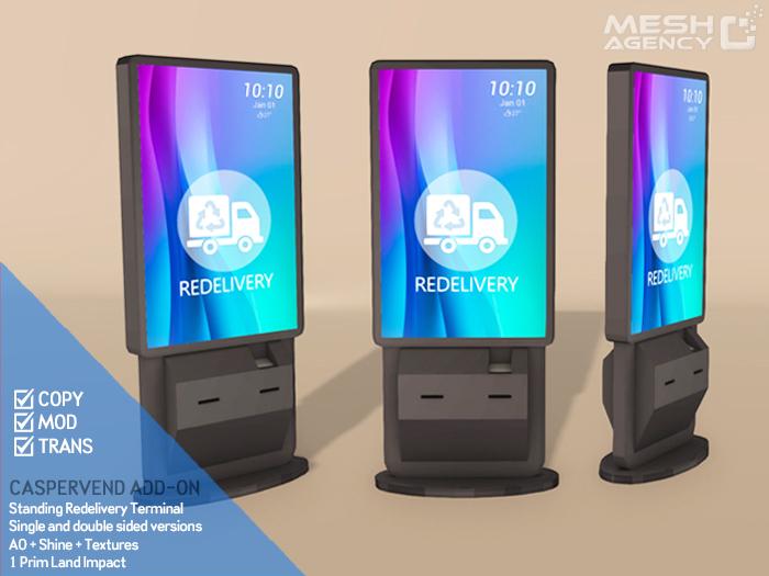 ::MA:: Caspervend Redelivery Terminal V3
