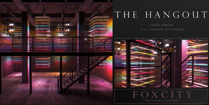 FOXCITY. Photo Booth - The Hangout (Sunset)