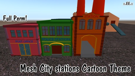 ::.EE.:: Mesh City Station Buldings FULL PERM BOXED