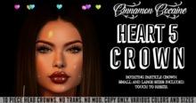 [Cinnamon Cocaine] Heart Crown 5
