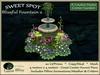 Blissful fountain 2 sweet spot   center garden