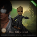 [C] Mini Baby Groot [Black] - Animesh (Shoulder Pet)
