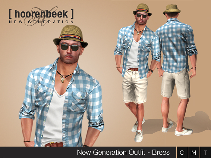 Complete Outfit - Brees - Signature, Belleza, SLink, Classic Avatar