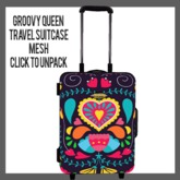 Groovy Queen Travel Suitcase (add me to unpack)