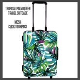 Tropical Palm Queen Suitcase v1