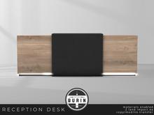Burin: Reception Desk