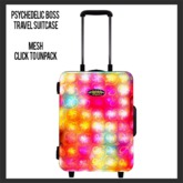 Psychedelic Boss Travel Suitcase (add)