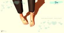 *Tea Valentine Feet tattoo