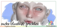 *Rainbow Sundae* Awks Blush & Freckles Omega