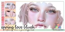 *Rainbow Sundae* Spring Love Blush LAQ