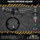 High Voltage Motors - Racing Steering Column