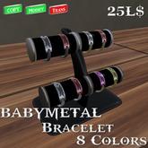 Babymetal Bracelet 8 Color's