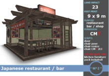 * M^2 * Japanese Restaurant / bar (COPY/MODIFY/MESH/BOXED)