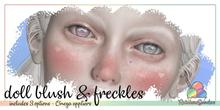 *Rainbow Sundae* Doll Blush & Freckles OMEGA