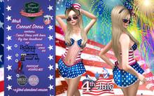 :: KCF :: 4th of July Gift Corset dress
