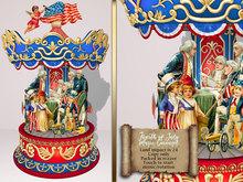 Boudoir-Fourth of July Music Carousel