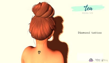 *Tea Diamond Tattoo
