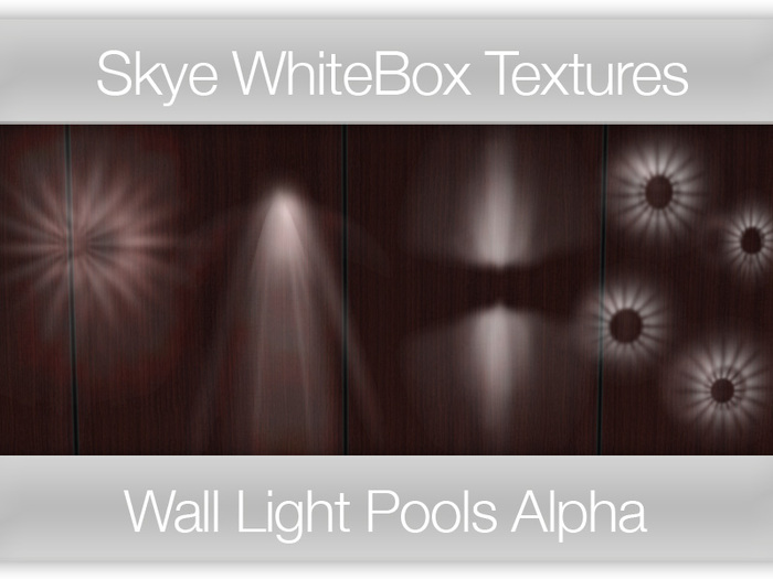 Wall Light Pools - Skye WhiteBox Full Perms Textures