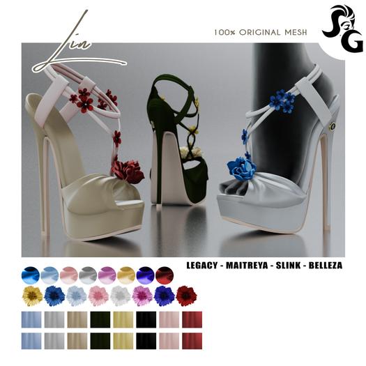 ::SG:: Lin Shoes - MAITREYA