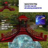 Japanese Garden Bridge set-BOX