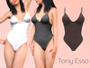 Tony Esso - Bodysuit (Coffe)