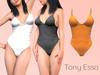 Tony Esso - Bodysuit (Orange)