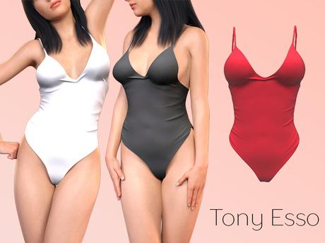 Tony Esso - Bodysuit (Red)
