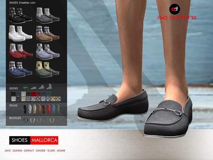 A&D Clothing - Shoes -Mallorca-  SlimPack