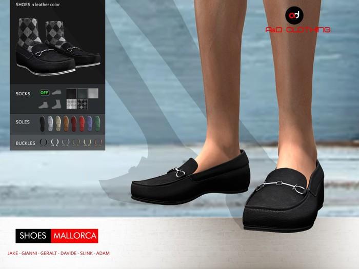 A&D Clothing - Shoes -Mallorca- Ebony