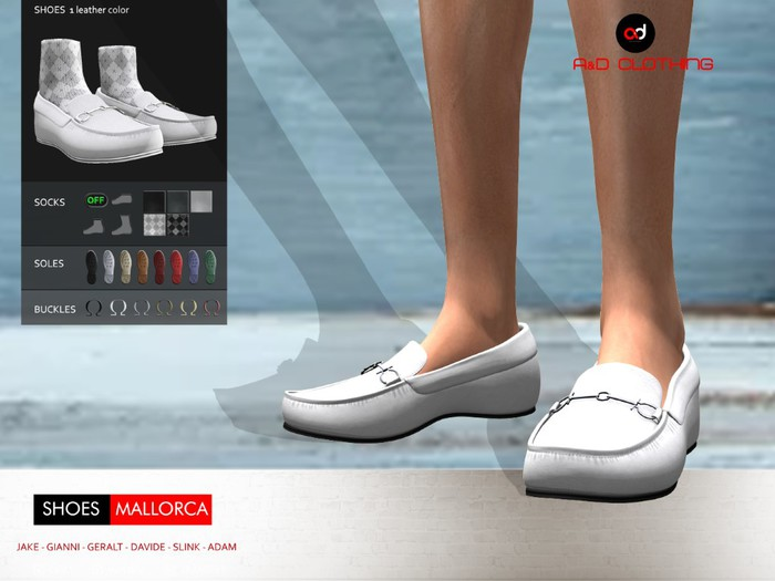 A&D Clothing - Shoes -Mallorca- Ivory