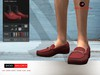 ! a d clothing   shoes  mallorca  maroon