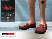 A&D Clothing - Shoes -Mallorca- Maroon