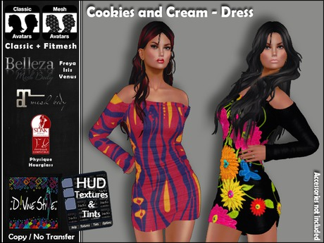 :: D!vine Style :: Cookies and Cream - Dress