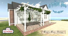 LH - Traditional - Alderley Pergola with vines(Box)