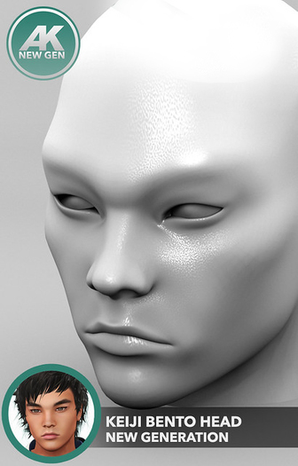 [AK] Keiji Bento Head Vers. 2.6 + Animation HUD