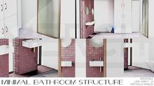 M E R C H- MINIMAL BATHROOM STRUCTURE