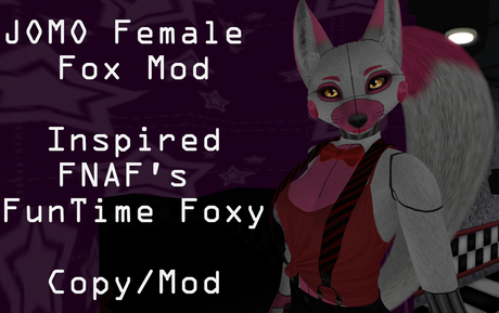 Second Life Marketplace Ft Foxy Jomo Female Fox Mod