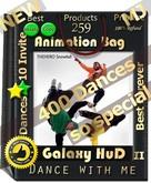 Dance with me Galaxy II HUD 2019